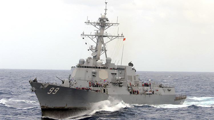 "Pekín exige a EE.UU. que ponga fin a sus ""provocaciones"" en el mar de la China Meridional"