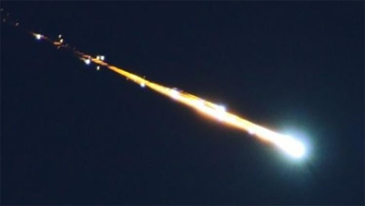 Usuarios de redes sociales comunican sobre la supuesta caída de un meteorito en EE.UU.