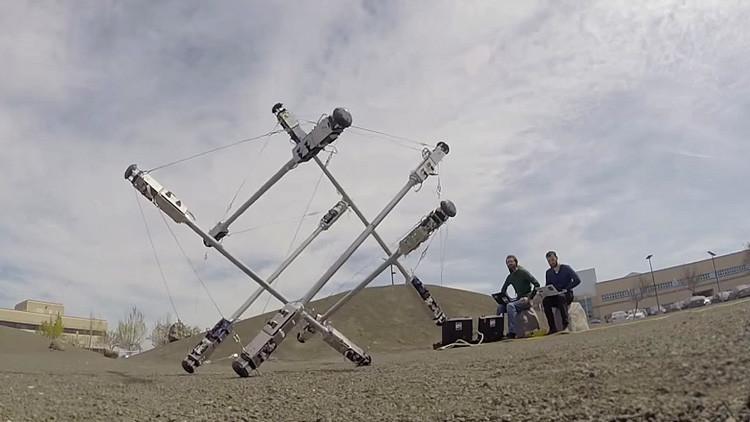 """Como en """"Interstellar"""": la NASA revela su nuevo robot para explorar planetas lejanos"""