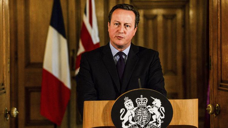 El primer ministro del Reino Unido, David Cameron