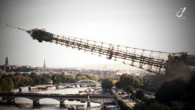 El Estado Islámico amenaza con derribar la torre Eiffel