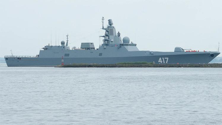Rusia se arma con una fragata rusa invisible para los radares