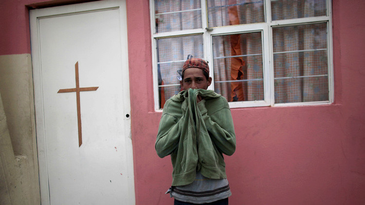 """""""No salgan después de las 7"""": Una población mexicana atemorizada por mensajes anónimos"""