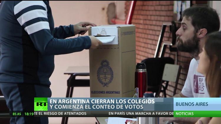 """""""La seguridad y la economía son los dos temas de importancia en las elecciones argentinas"""""""