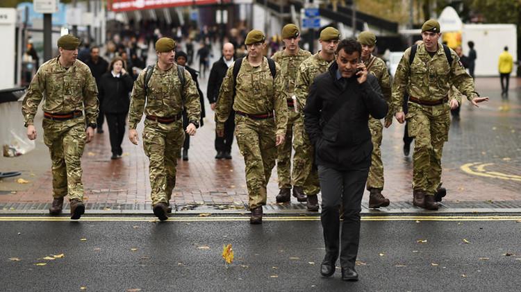 Londres creará brigadas de 5.000 soldados para reaccionar inminentemente ante amenazas terroristas
