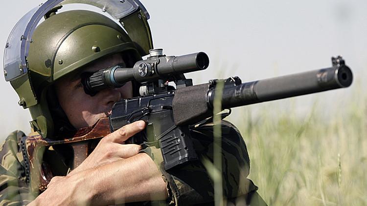 Preciso, compacto y sin ruido: así es el fusil legendario de las Fuerzas Especiales rusas