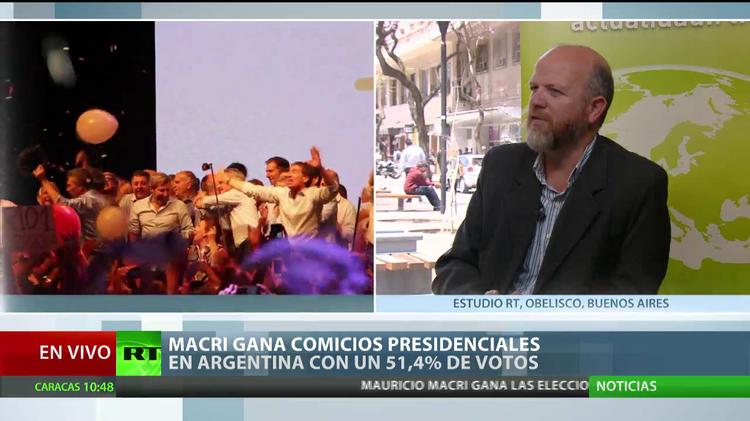 """Experto: """"La victoria de Macri logró imponer la idea de cambio"""""""