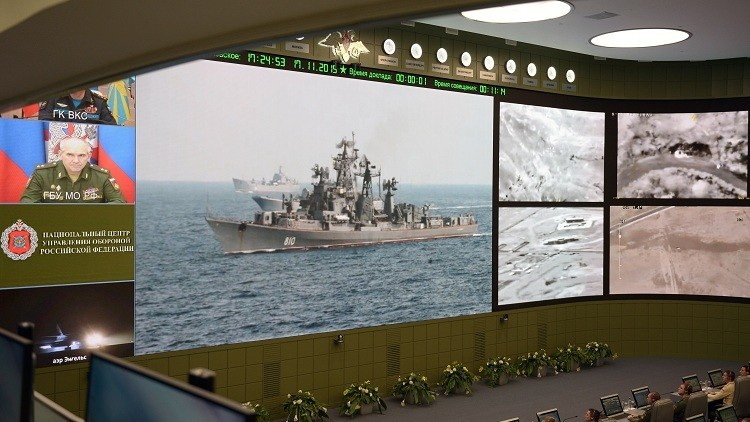 La joya del Ejército: la innovadora sala de guerra rusa impresiona a la prensa occidental
