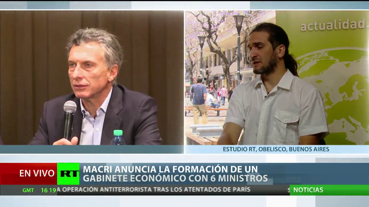 """""""La política económica de Macri está vinculada a las finanzas y el libre mercado"""""""
