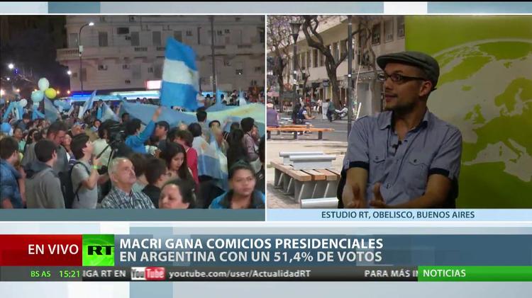 """""""El triunfo de Macri significa una ofensiva regional de la nueva derecha del siglo XXI"""""""