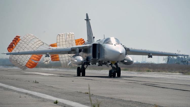 El avión militar ruso derribado en Siria regresaba a su base aérea