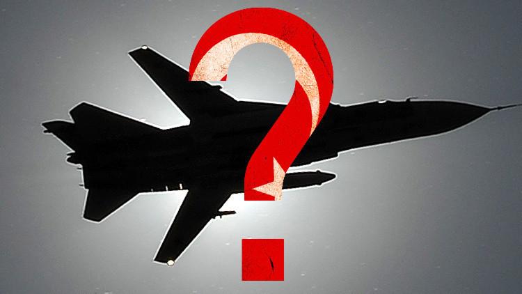 Turquía alega que antes de derribar el avión no sabía que era ruso