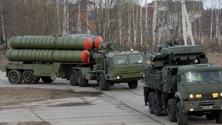 El Ejército ruso incorpora dos unidades del novedoso sistema antiaéreo S-400