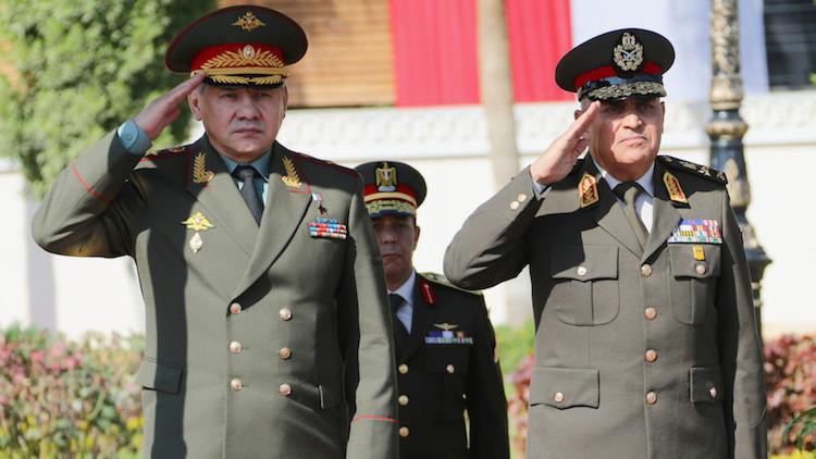 Egipto comprará a Rusia una gran cantidad de armas avanzadas