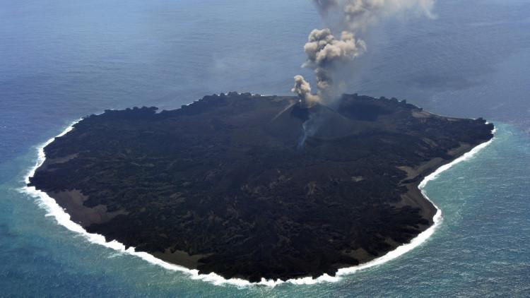 'La tierra que crece': una isla se vuelve 12 veces más grande de manera inexplicable