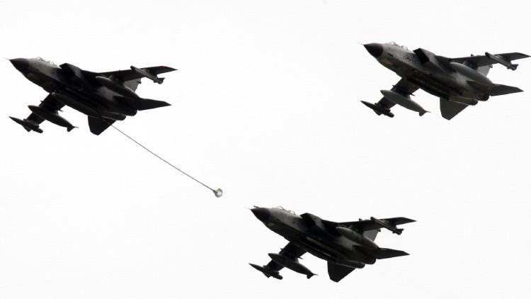 Un buque de guerra, dos aviones espía, aviones de repostaje y drones: el envío alemán a Siria