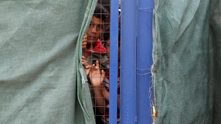 ¡Bienvenidos!: Los neerlandeses 'reciben' a los refugiados con cabezas de cerdo (Video fuerte)