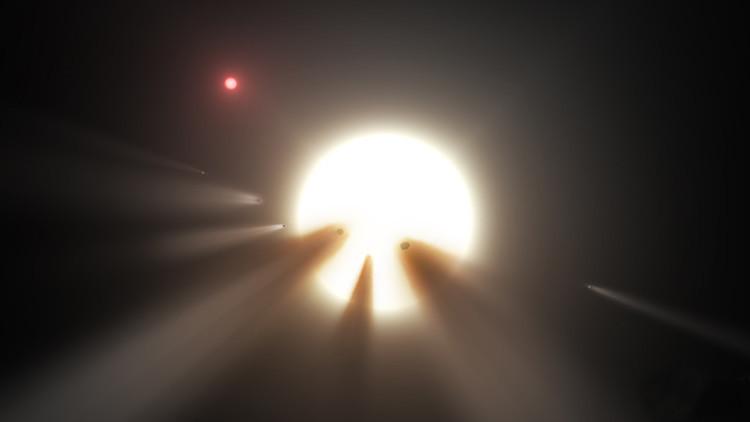 ¿Son o no extraterrestres? Hallan la posible explicación a una  misteriosa luz cósmica