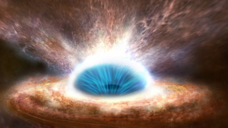 Captan por primera vez cómo un agujero negro absorbe a una estrella