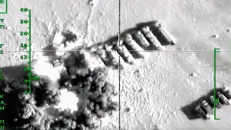 Imagen proporcionado por el Ministerio de Defensa ruso
