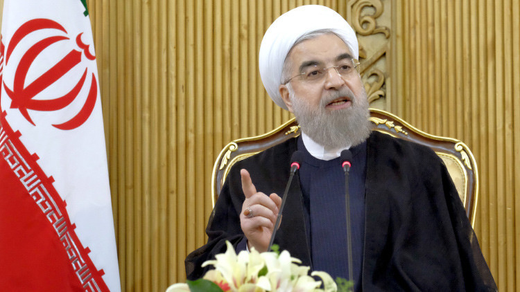 El presidente de Irán Hasán Rohaní