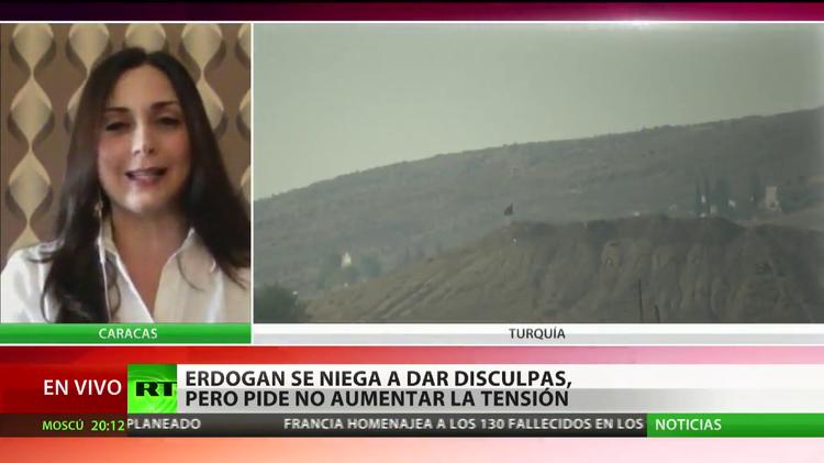 Erdogan se niega a disculparse pero pide no aumentar la tensión