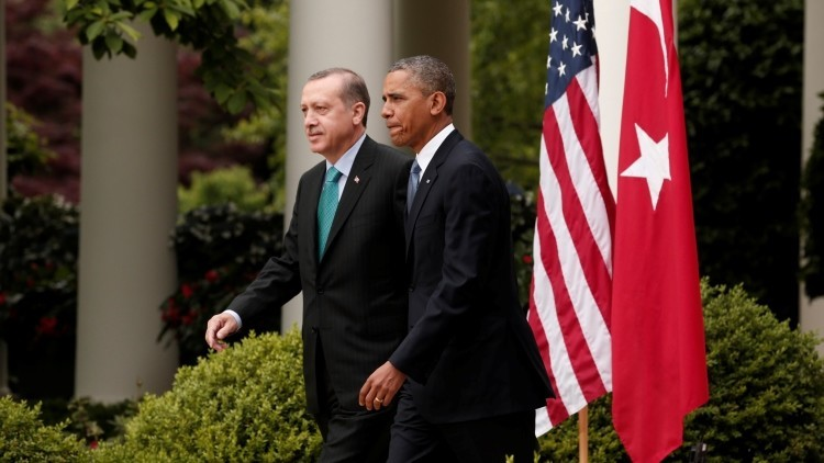 El presidente turco Recep Tayyip Erdogan y su homólogo estadounidense Barack Obama