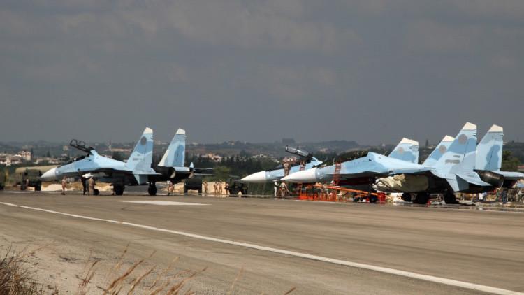 Por tierra, mar y aire: Aviación rusa en alta disposición de combate en Siria tras derribo del Su-24