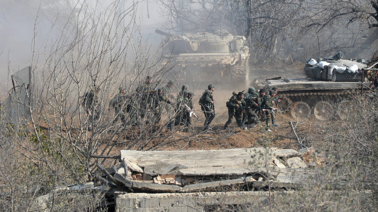 Turquía abre fuego de mortero contra el Ejército sirio