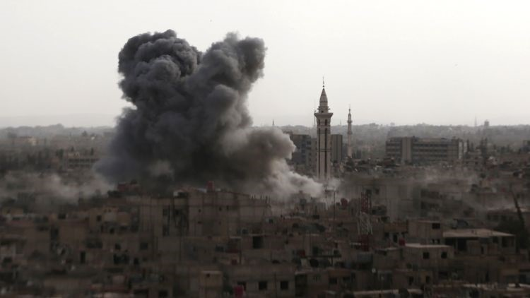 Alemania podría unirse a la operación aérea en Siria