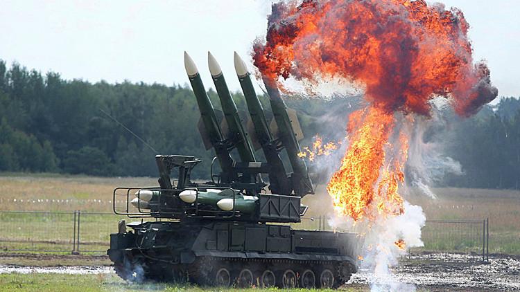Conozca de cerca los poderosos sistemas de misíles antiaéreos Buk