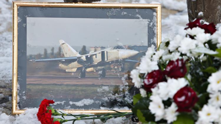 Recuperan el cuerpo del piloto del Su-24 abatido en Siria