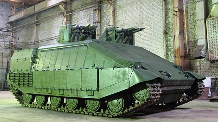 """La Red se burla del nuevo """"tanque demoledor"""" desarrollado por Ucrania"""