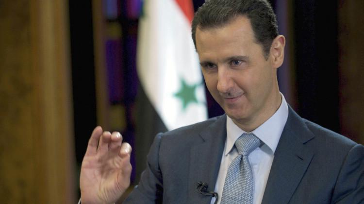 """Al Assad: """"Los enemigos de Siria arman a los terroristas ante los logros del Ejército del Gobierno"""""""
