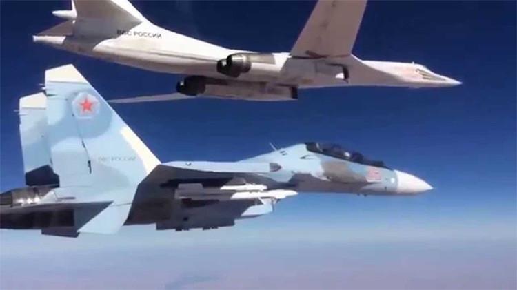 Rusia defenderá sus aviones militares con 'munición' de guerra electrónica