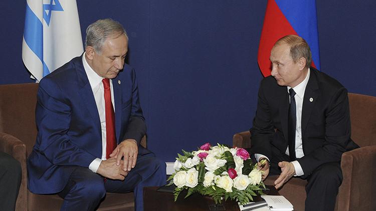 """Netanyahu: """"Rusia e Israel interactuarán en tierra, en aire y no solo allí"""""""