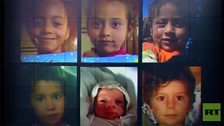 Un sirio acusa a la coalición liderada por EE.UU. de haber matado a seis niños