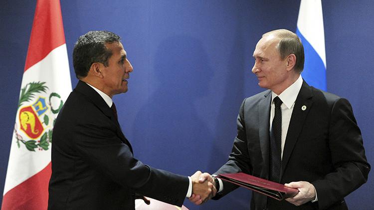 Nuevo socio en América Latina: Rusia y Perú firman un acuerdo estratégico de asociación