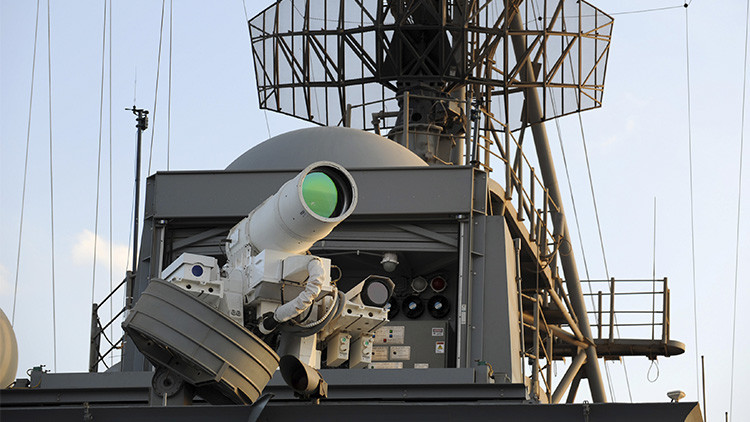 Fotos: China descubre su nueva arma láser, capaz de destruir objetivos aéreos