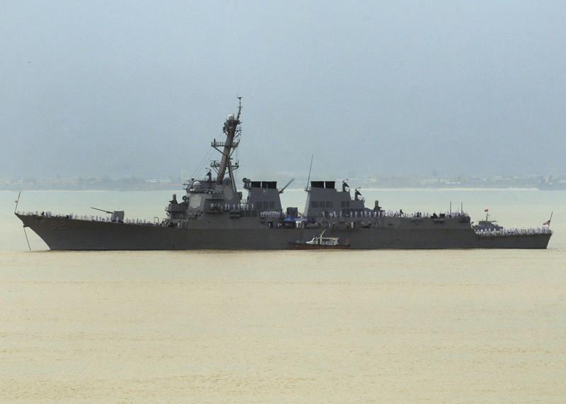El destructor USS Lassen
