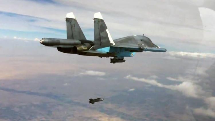 El cazabombardero ruso Su-34
