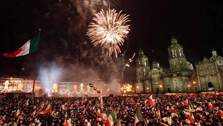 El Día de la Independencia en Méxco