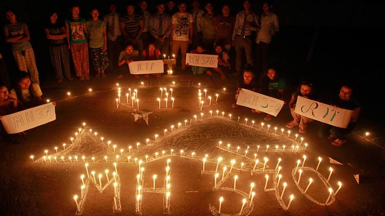 Parientes de víctimas del MH370