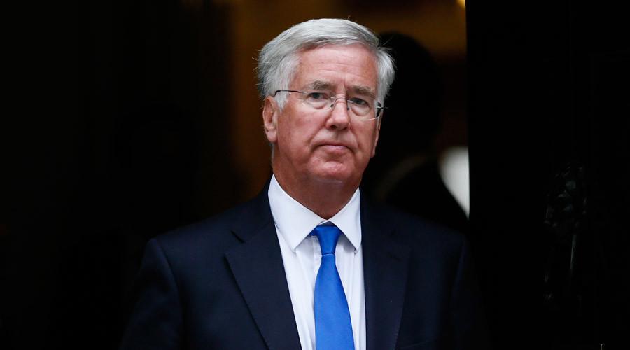 El secretario de Defensa británico Michael Fallon