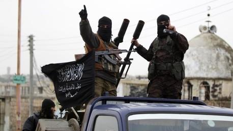Miembros del grupo islamista Frente Al Nusra