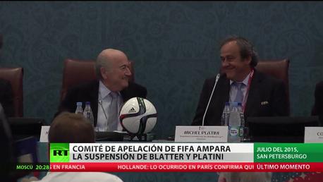 Blatter y Platini recurrirán al Tribunal de Arbitraje del Deporte tras confirmarse su sanción