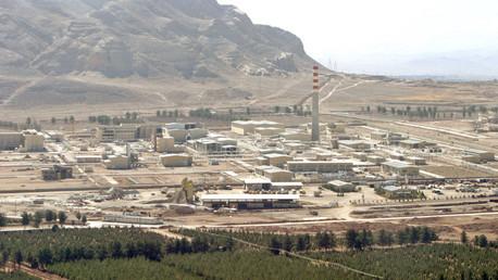 Vista panorámica del centro de procesamiento de uranio en Isfahán, 340 kilómetros al sur de Teherán.