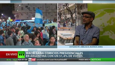 """Experto: """"El triunfo de Macri significa una ofensiva regional de la nueva derecha del siglo XXI"""""""