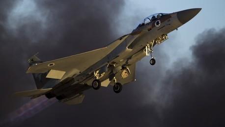 Un caza F-15 de la Fuerza Aérea israelí