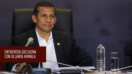 Ollanta Humala concede una entrevista exclusiva a RT